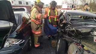 Multiple Vehicle Crash on Northbound I-270