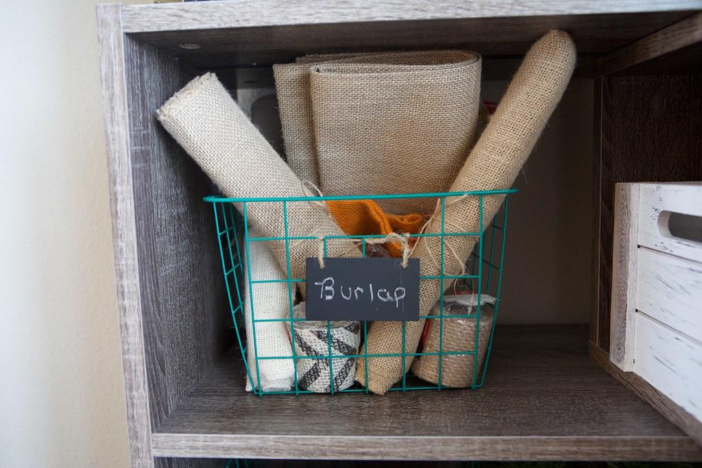 Burlap Storage