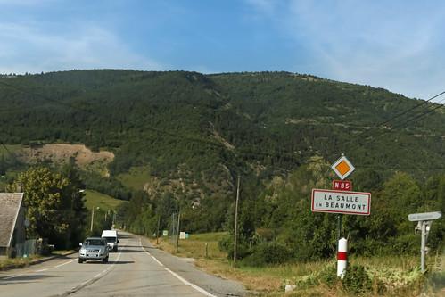 Route Napoléon [N85] - La Salle-en-Beaumont (France)