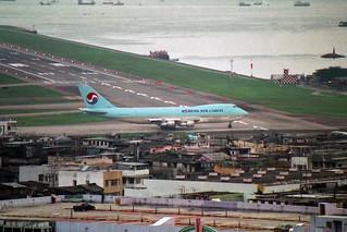 Korean Air Cargo Boeing 747-2S4F/SCD HL7474