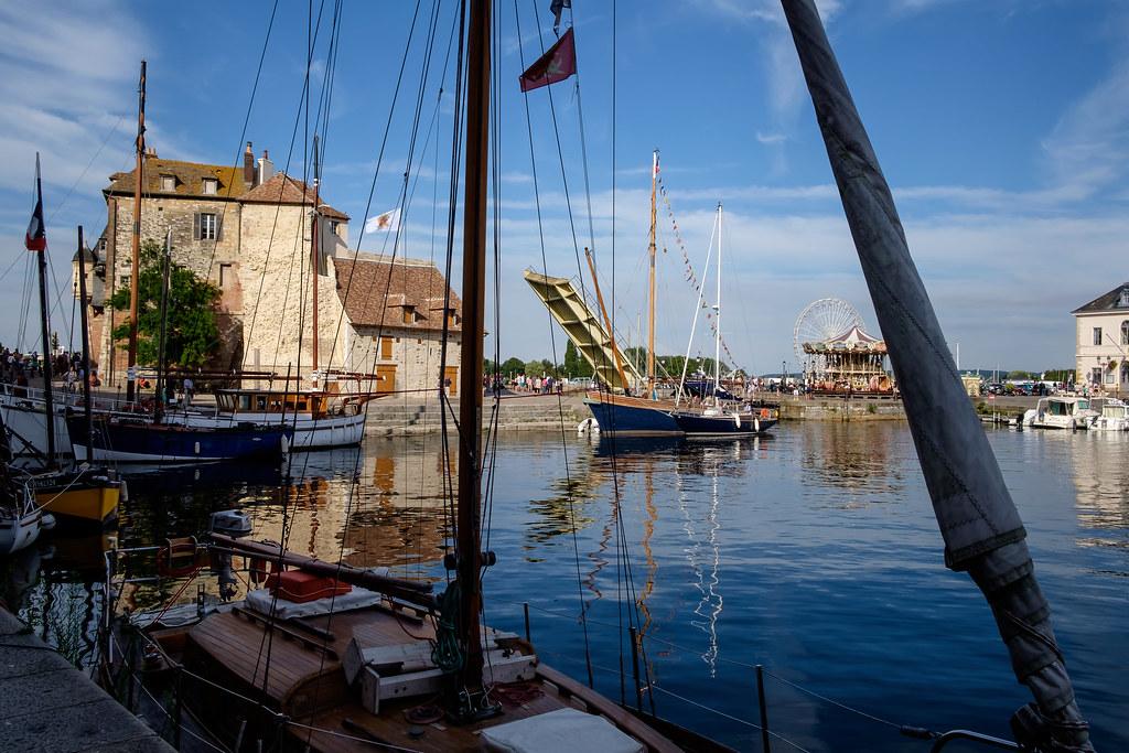Normandie (France) - Honfleur Vieux Bassin: Lieutenance