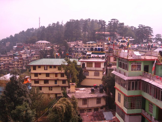 A view over Dharamsala