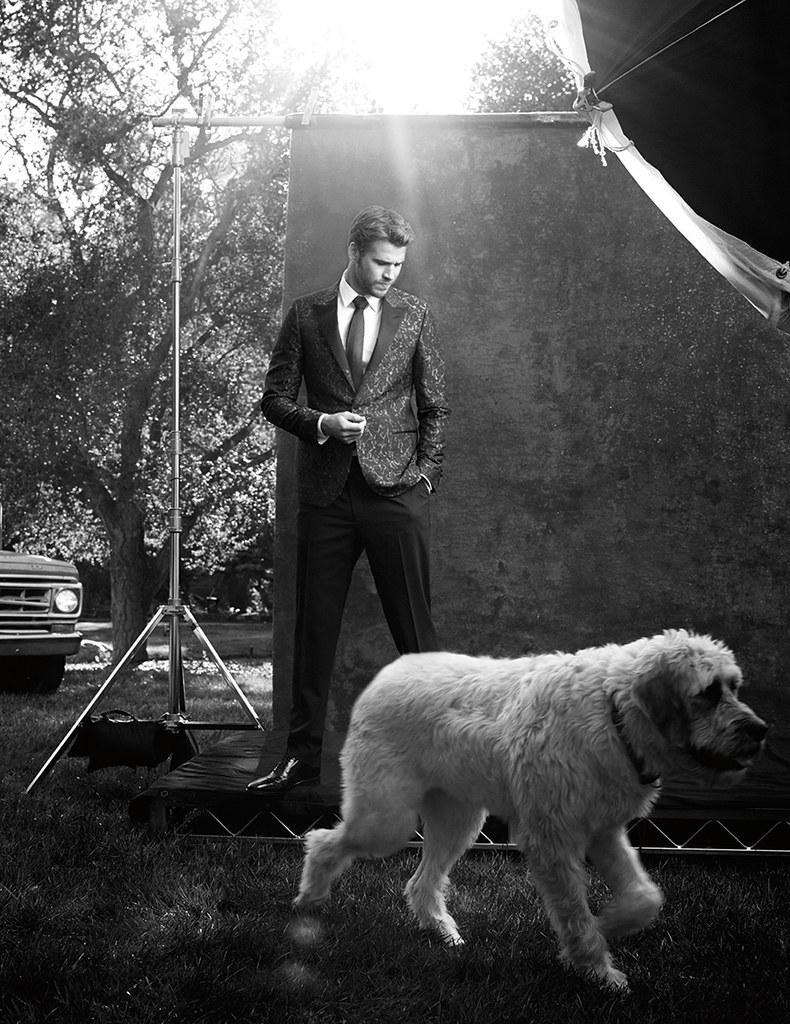 Лиам Хемсворт — Фотосессия для «#legend» 2016 – 2