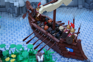 A Classical Greek Polis (Trireme)