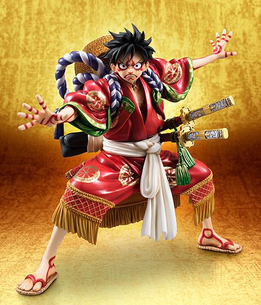 """《超級歌舞伎Ⅱ:海賊王》立體化!P.O.P 魯夫 """"KABUKI EDITION"""""""