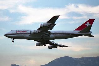 "Swissair Boeing 747-357M HB-IGD ""Basel-Stadt"""