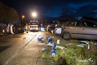 Verkehrsunfall an Bushaltestelle Geisenheim 03.03.16