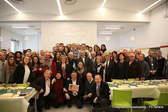 Giornata conclusiva campagna FS e Caritas Roma - La solidarietà viaggia sui treni
