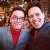 """Furia y Manso felices tras el éxito del gran estreno de """"El Pregón"""". Público en pie, bailando con la música de los créditos!!! Qué más se puede pedir?"""