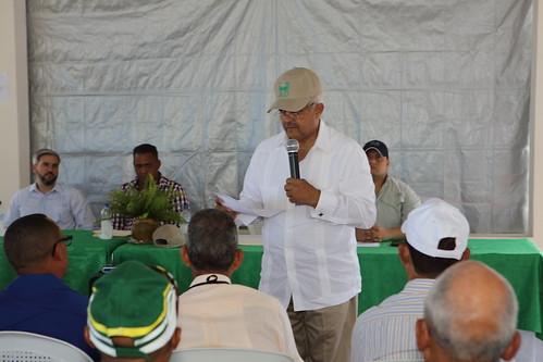 Osmar Benítez, presidente ejecutivo de la JAD