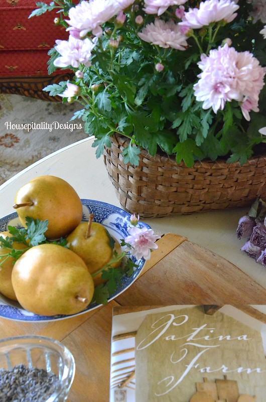 Spring Table Vignette - Housepitality Designs