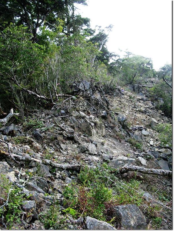 斯拉巴庫山坍方地形