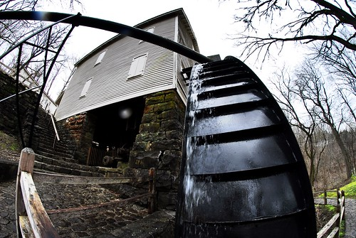 mill kentucky fisheye watermill millsprings millspringspark