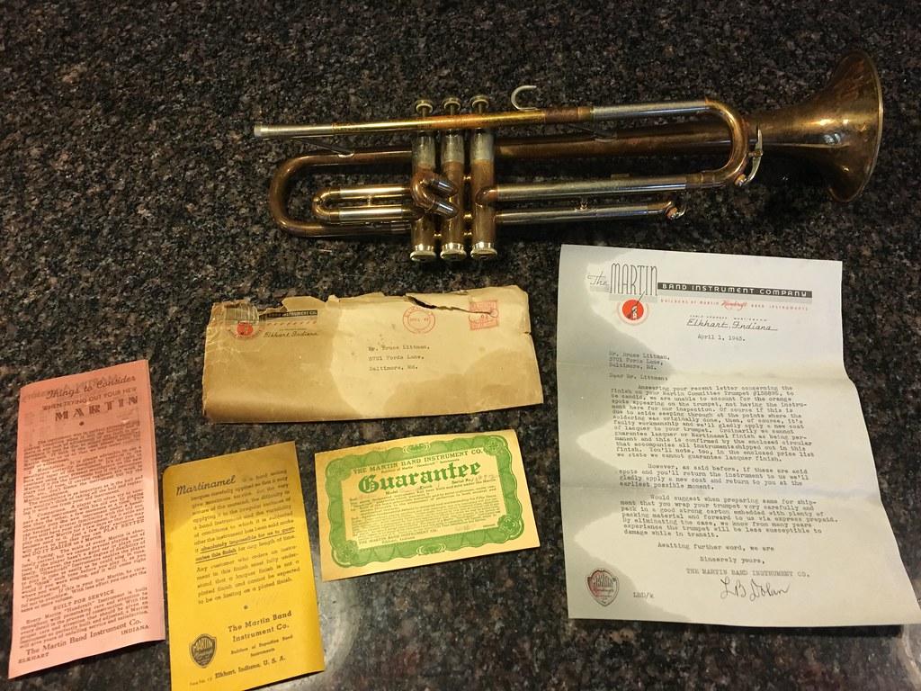 Estate Sale '41 Handcraft Committee - View topic: Trumpet
