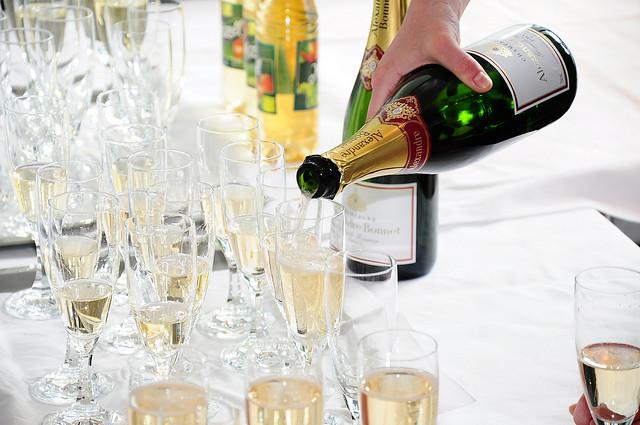 Cameron Lodges Celebrating