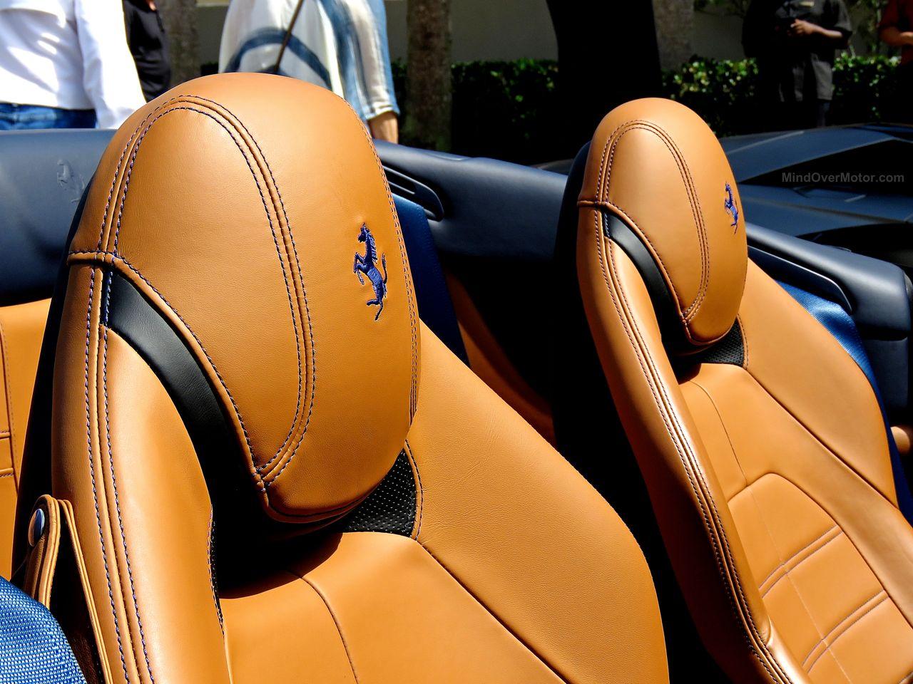 Amelia Island 2016 Ferrari California T Seats