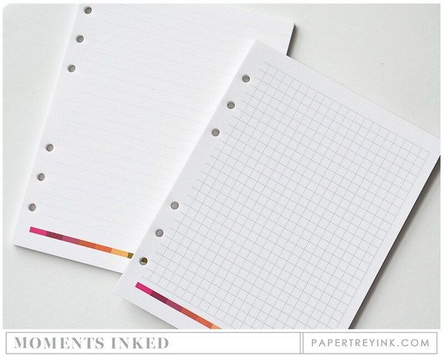 PTI Refill Binder Pages
