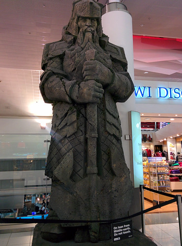 Dwarf Sculpture in NZ Airport