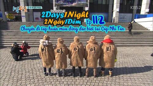[Vietsub] 2 Days 1 Night Season 3 Tập 112
