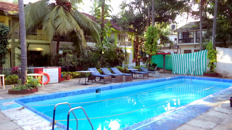 3 BHK Bungalow + Pool & WiFi Calangute Beach