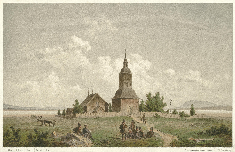 Jukkasjärvi Church, Lappland, Sweden