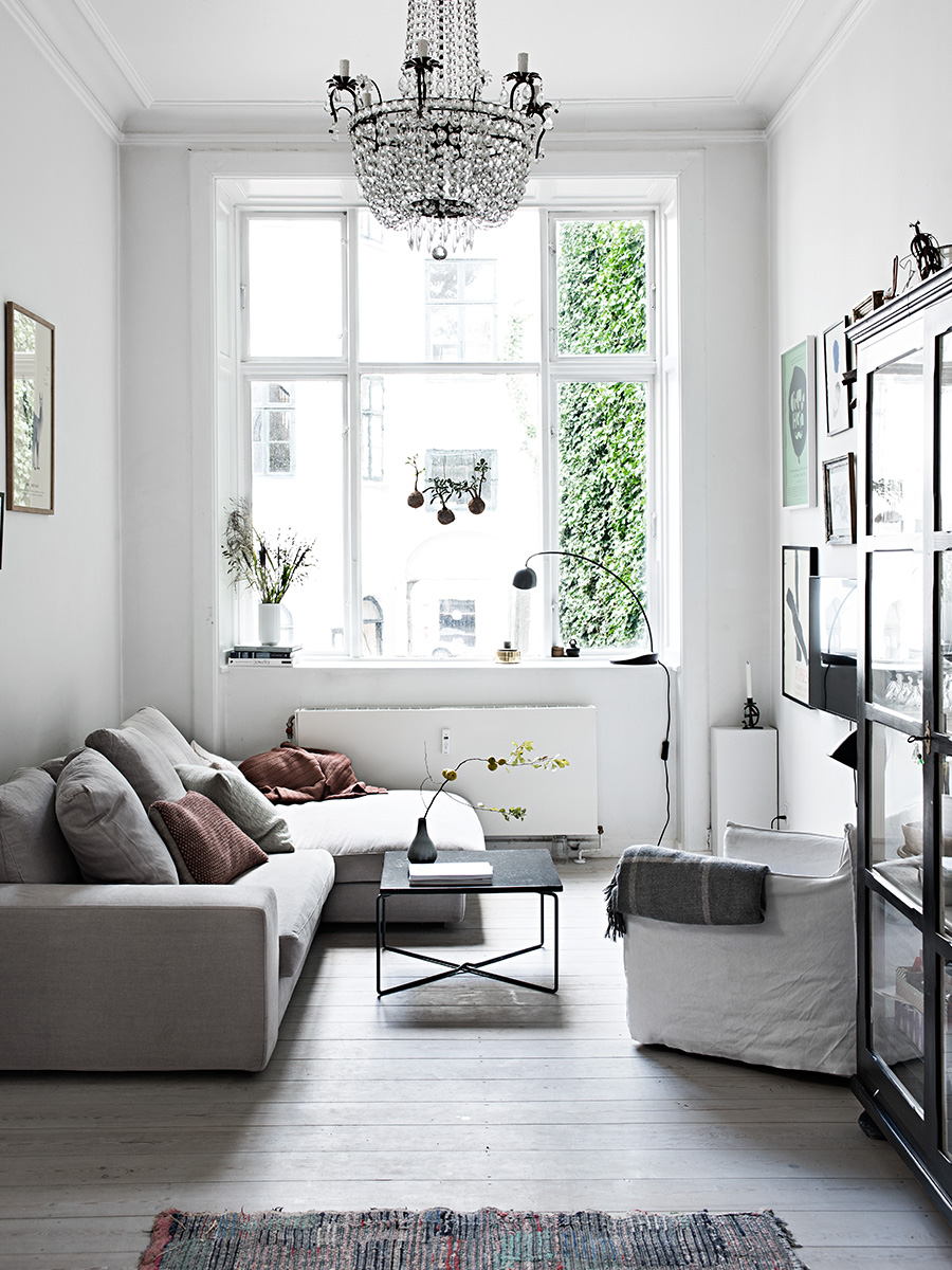 Light and Airy Copenhagen Home