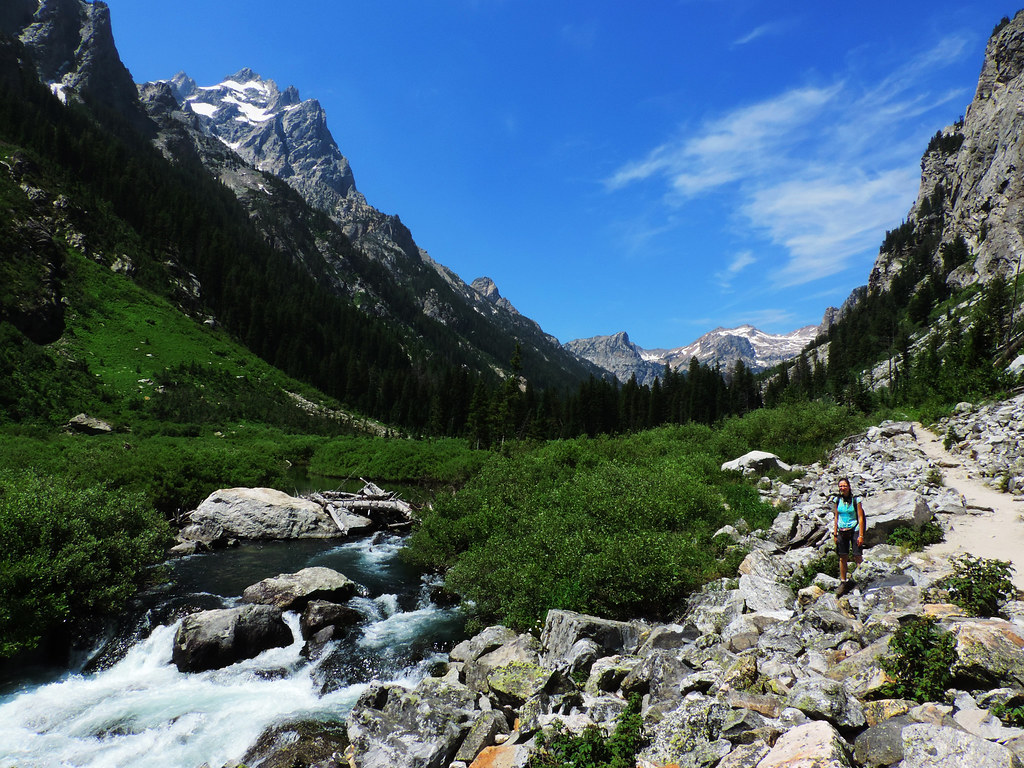 Cascade Canyon, Grand Teton National Park, Wyoming, USA