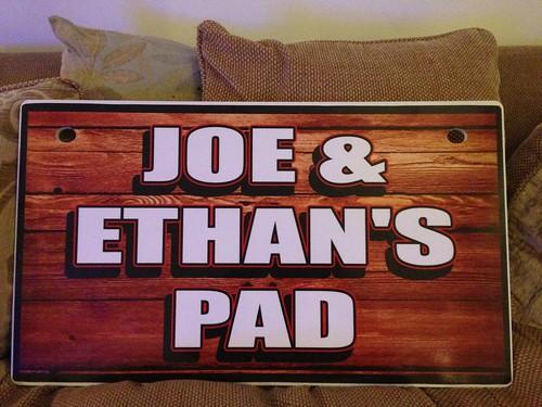 Joe & Ethan's Pad