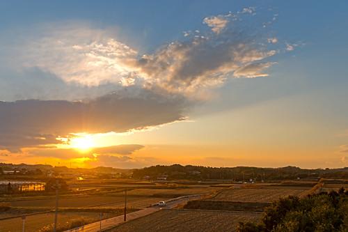 Sunset at Chita Peninsula, Japan