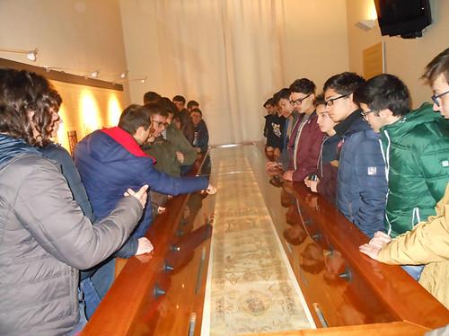 studenti itis in visita al museo diocesano