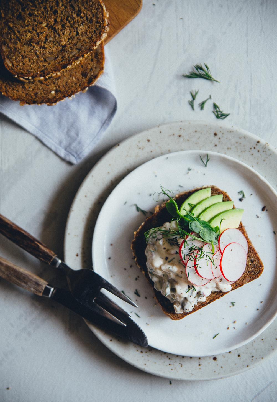 Vegan Swedish Gubbröra | Cashew Kitchen