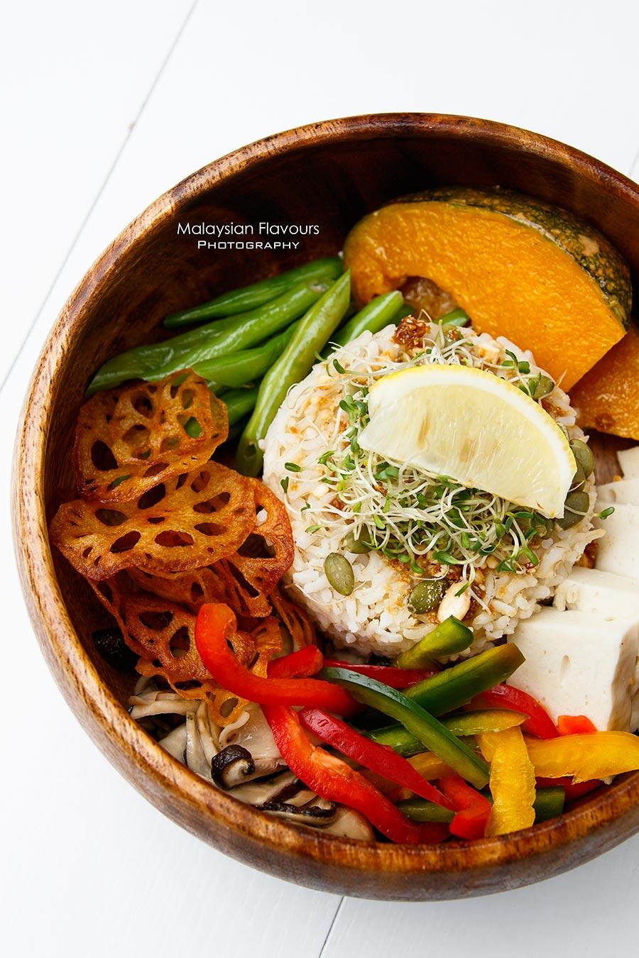 Goodness Greens Cafe by La Juiceria TTDI buddha bowl