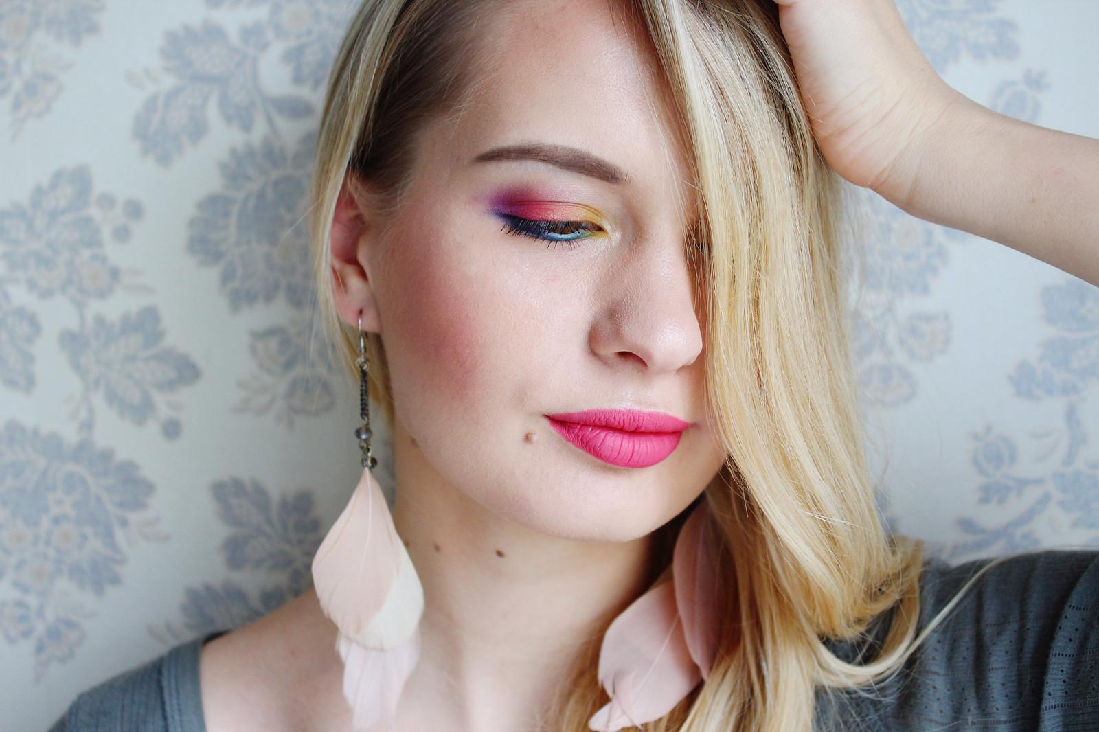 Spring makeup idea