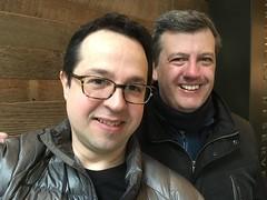 Fede con Luis Machado de Argentina