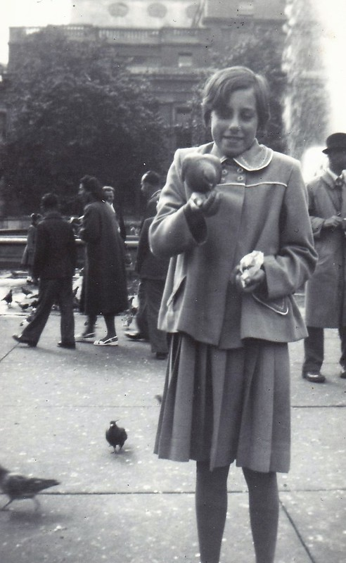 Trafalgar Square, London Aged 9-10