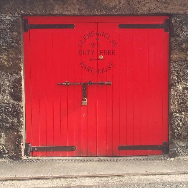Glenfarclas distillery in Speyside.