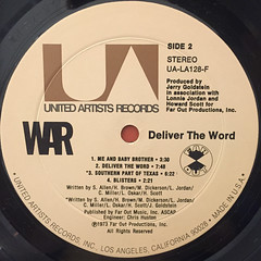 WAR:DELIVER THE WORLD(LABEL SIDE-B)
