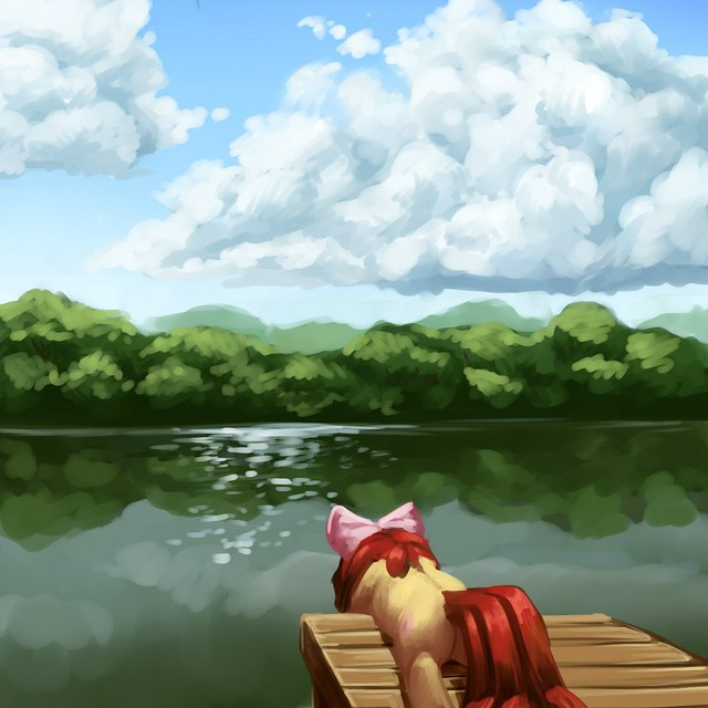 Applebloom_on_the_dock_by_aphphphphp