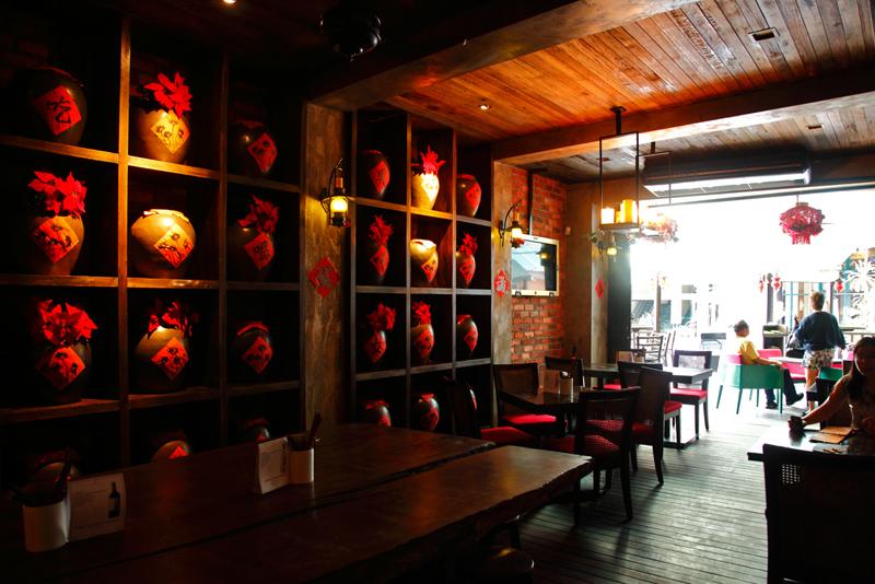 Opium KL Chinese Wine Jars