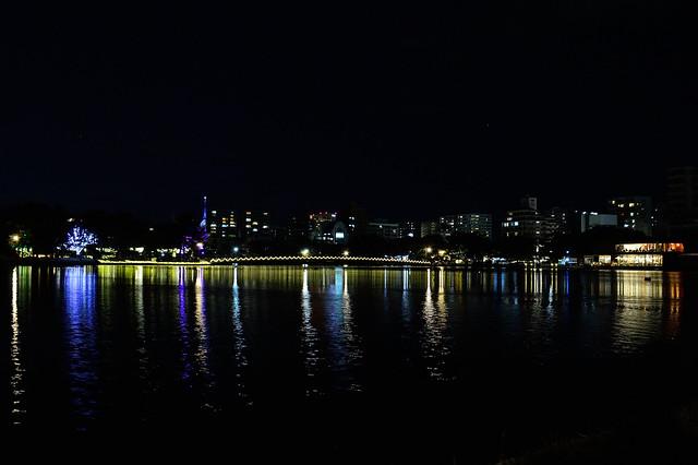 クリスマスの夜_大濠公園