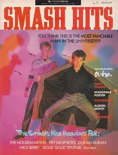 Smash Hits, December 17, 1986