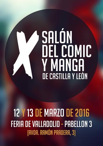 X Salón del Cómic y Manga de Castilla y León. Avance