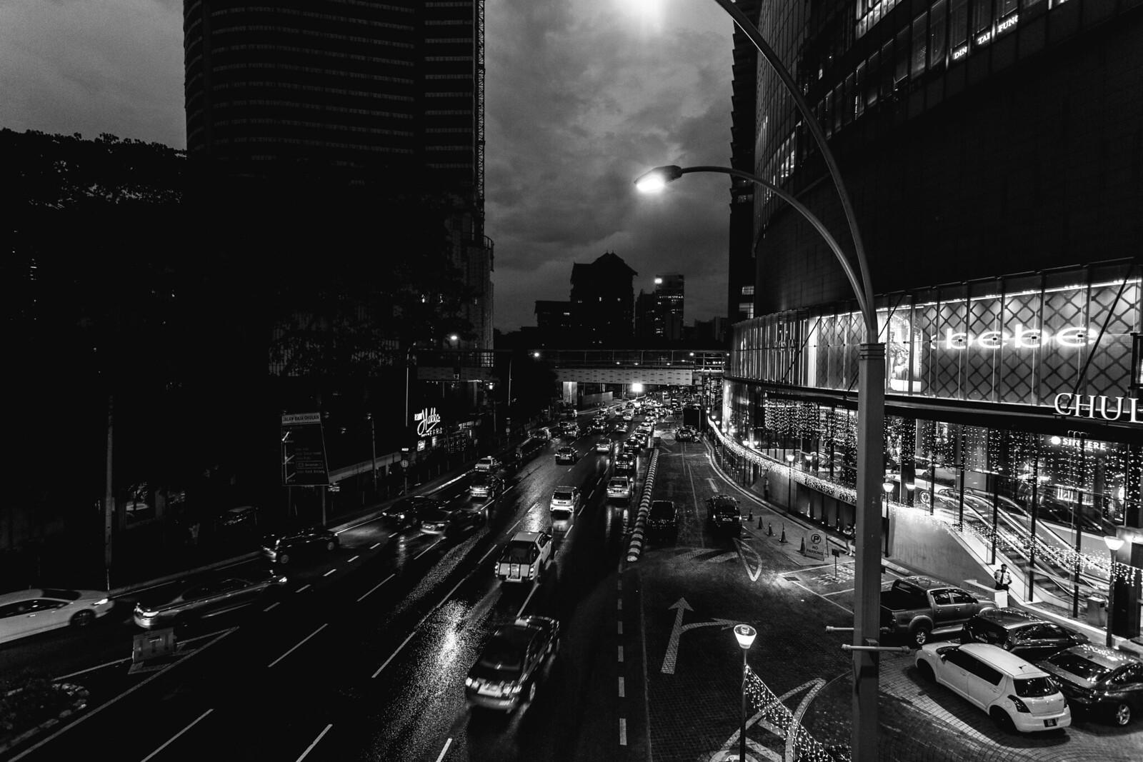Pavilion Traffic Night