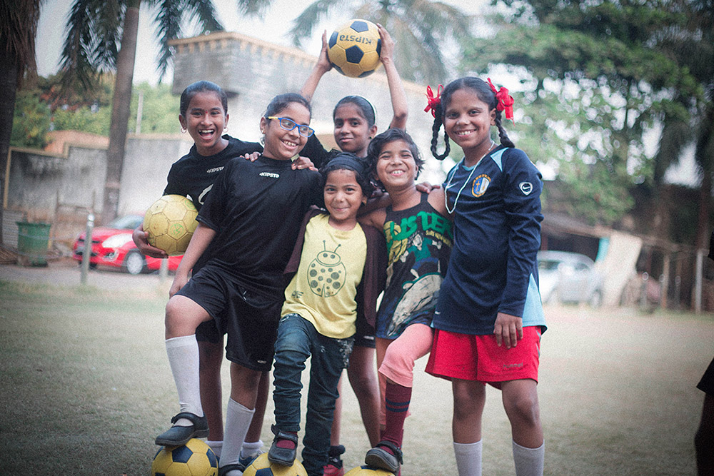 Girls football India