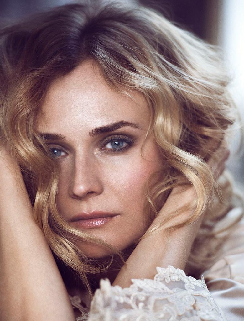 Диана Крюгер — Фотосессия для «Glamour» IT 2015 – 7