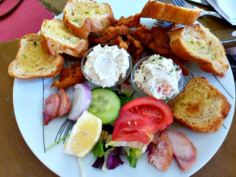 Hungarian Fish Platter