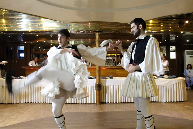 Anna Marou cruise ship greek folk dance
