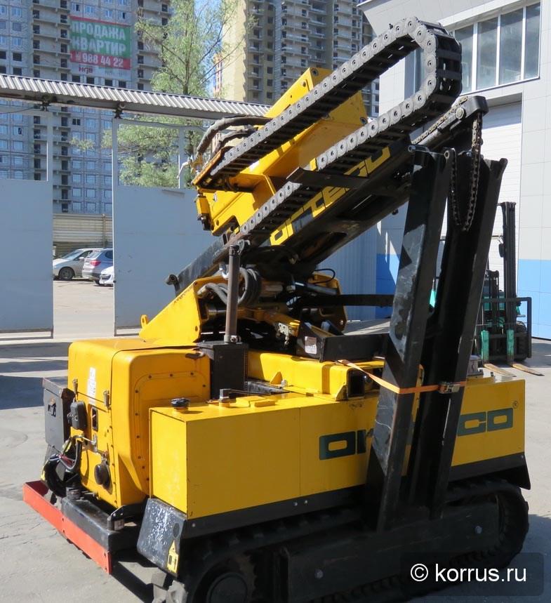 Сваебойная машина ORTECO BTP 1000 HD в аренду