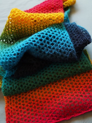 almost-rainbow scarf