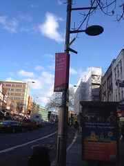 Three years, four months, and the Olympic spirit still present on Wembley High Road